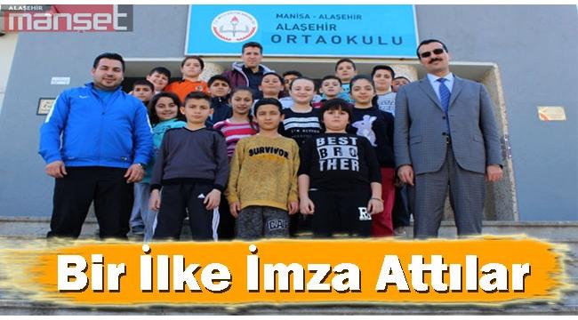Alaşehir Ortaokulu Bir İlke İmza Attı