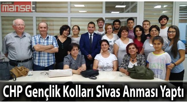 CHP Gençlik Kolları Sivas Anması Yaptı