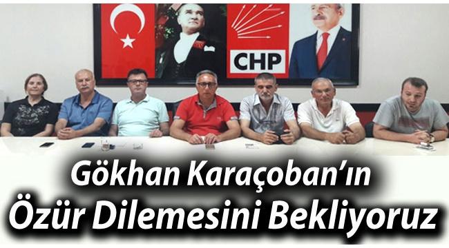 Gökhan Karaçoban'dan Özür Bekliyoruz