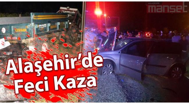 Alaşehir'de Feci Kaza: 7 Yaralı