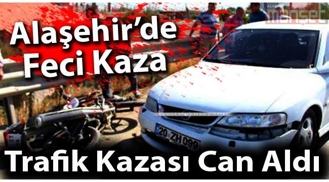 Trafik Kazası Can Aldı: 1 Ölü