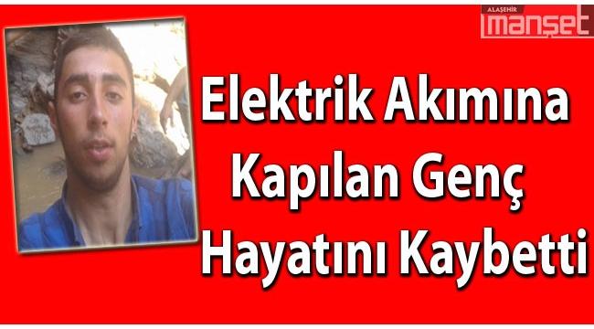 Elektrik akımına kapılan genç işci öldü