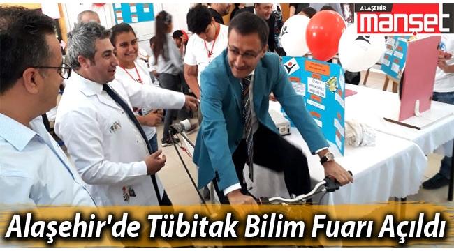 Alaşehir'de Tübitak 4006 Bilim Fuarı Açıldı