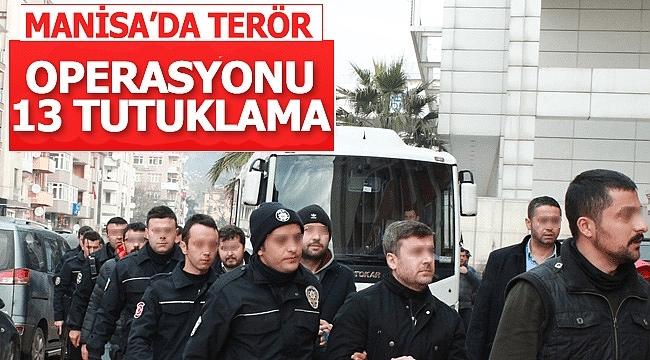 Manisa'da Terör Operasyonları: Çok Sayıda Gözaltı Var