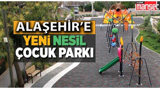 Alaşehir Yeni Nesil Park ve Bahçelerle Donatılıyor