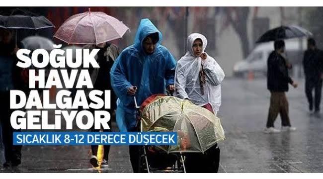 Alaşehir'e Soğuk Hava Dalgası Geri Dönüyor