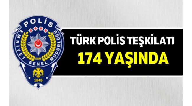 Polis Teşkilatının Kuruluş Yıl Dönümü Alaşehir'de Kutlandı