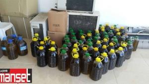 Sarıgöl'de 356 litre Sıvı Yağ İmha Edildi