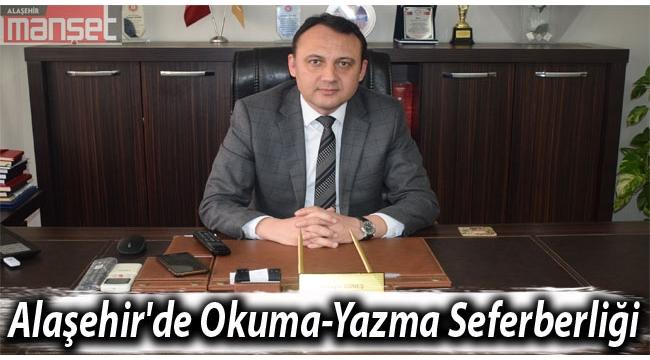 Alaşehir'de Okuma-Yazma Seferberliği