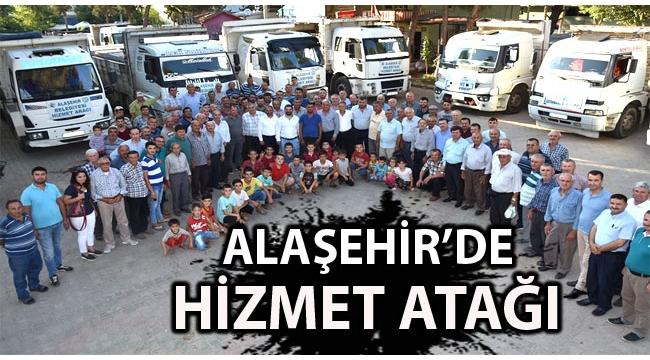 Alaşehir'de Değişim Başladı