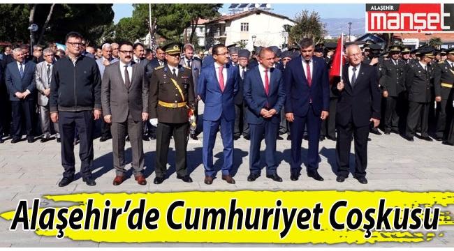 Alaşehir'de Cumhuriyet Coşkusu