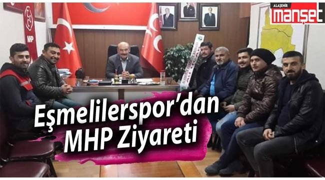 Eşmeliler Spor'dan MHP Ziyareti