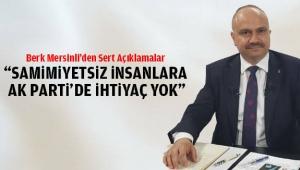 AK Parti Manisa İl Başkanı Mersinli'den Sert Uyarı