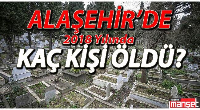 Alaşehir'de 2018 Yılında Kaç Kişi Öldü?