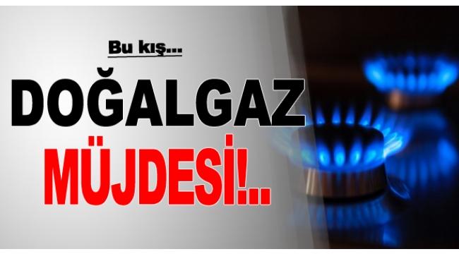 Alaşehir'e 2019 Sonuna Kadar Doğalgaz Geliyor