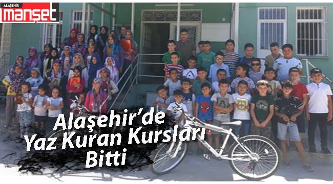 Alaşehir'de Kur'an Kursları Bitti