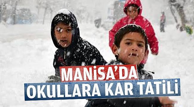 Manisa'da Okullara Kar Engeli