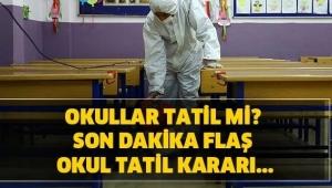Okullar 1 Hafta, Üniversiteler 3 Hafta Tatil