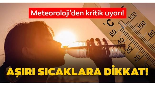 Cezayir'den gelen çöl sıcakları nedeniyle Alaşehir'de sıcaklık 40 dereceyi görecek