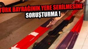 Alaşehir'de Bayrak Krizi Yaşandı