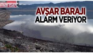 Avşar Barajı'nda Düşen Su Seviyesi Üreticiyi Endişelendiriyor