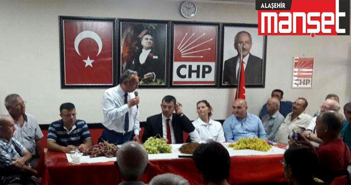 Özel, Alaşehir'de Partililerle Bayramlaştı